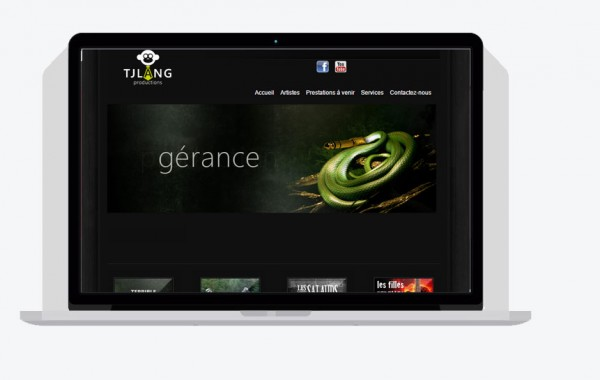 TJ Lang (site Web)