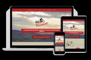 Vélo Mario Pontbriand (site Web)