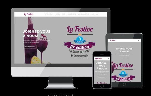 La Festive (site web)