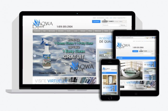 Boutique Aqwa Expert (e-commerce)