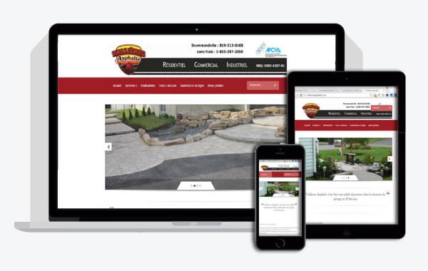 Vallière Asphalte (site Web)