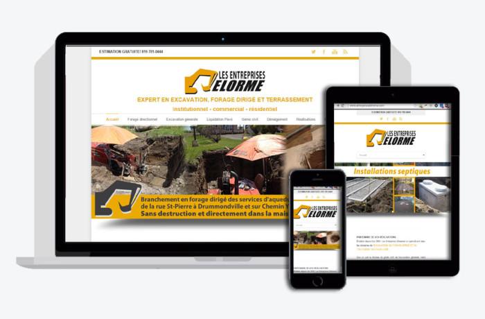 Les entreprises Delorme (site Web)