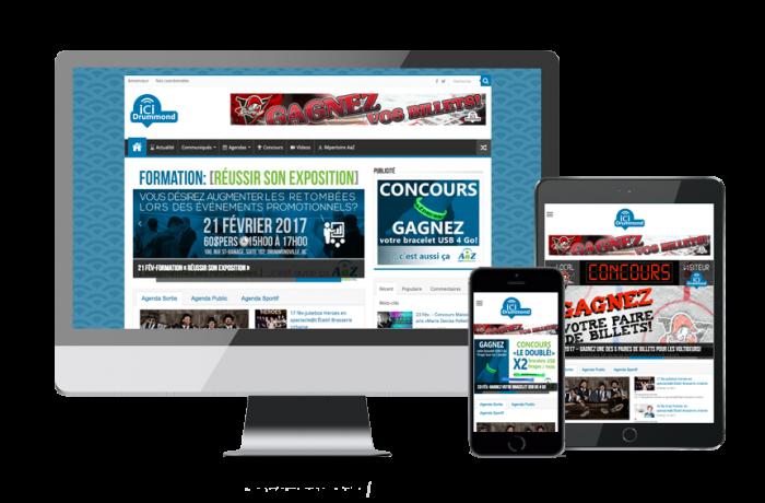 Ici Drummond (site web)