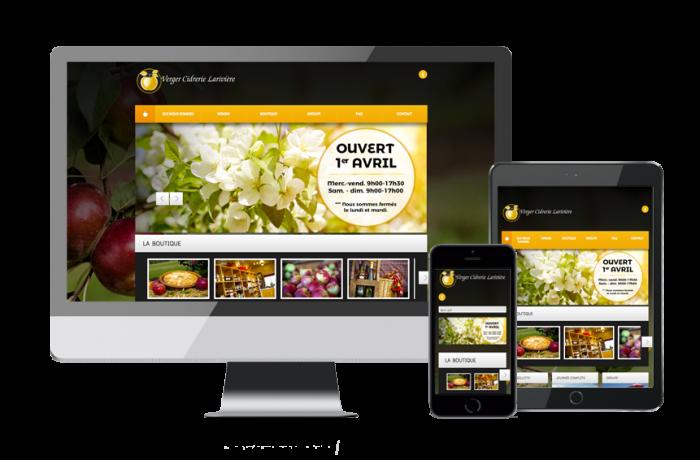 Verger Cidrerie Larivière (site web)